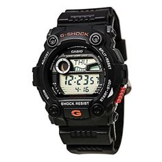 Casio Mens G79001 GShock Rescue Digital Sport Black Resin Watch -- Check this awesome product by going to the link at the image.Note:It is affiliate link to Amazon.