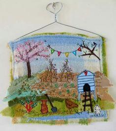 Beautiful stitching from Sweet Birdy Love