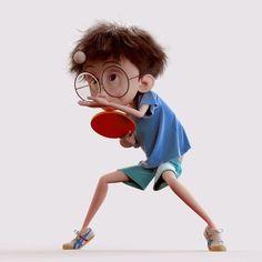 Masa tenisi oyuncu table tennis player