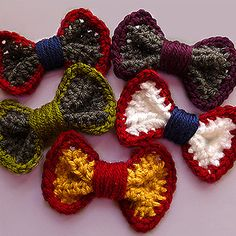 These mini bows are adorable and still vague enough that you could wear them with other outfits