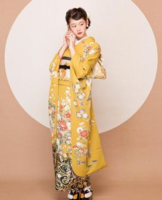 Weird Fashion, Ethnic Fashion, Kimono Fashion, Fashion Art, Yukata Kimono, Kimono Fabric, Japanese Outfits, Japanese Fashion, Japanese Beauty