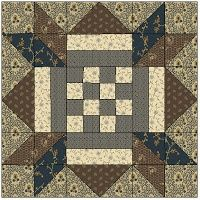 Checkerboard Star Quilt Block by Evonne of The Clothesline Quilter. Pattern published in Quiltmaker's 100 Blocks, Volume 6 $6.99 on Quilt and Sew Shop at http://www.quiltandsewshop.com/product/quiltmaker-100-blocks-volume-6/New-In-Quiltmaker