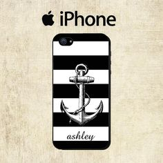 iPhone 5C Case   Vintage Anchor iPhone Case  by mylittlecase