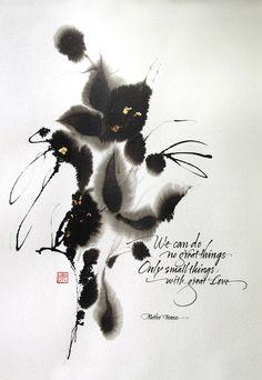 PORTFOLIO | Izumi Shiratani: Calligraphy & Letter Arts