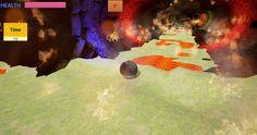 Finnish Roller PC, juego de plataformas en 3D y es muy divertido. La bola tiene su propia física y hay que acostumbrarse a él con el fin de controlarlo.