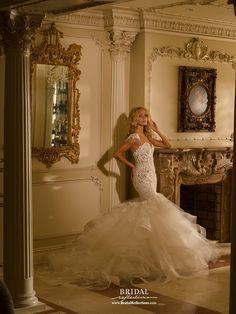 Eve of Milady 1554 💟$449.99 from http://www.www.gownfolds.com   #bridal #milady #mywedding #weddingdress #wedding #bridalgown #eve #of