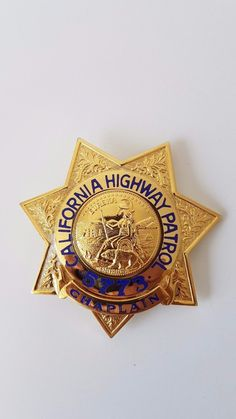 Larry Wilcox, Fire Badge, Law Enforcement Badges, California Highway Patrol, Police Badges, State Police, Religion, Patches, Sign