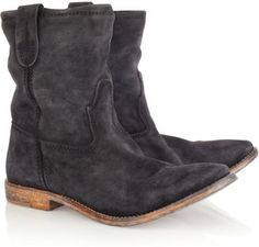Isabel Marant The Jenny brushed suede ankle boots