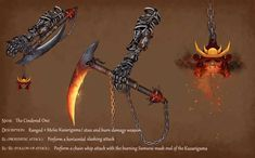 Post with 4272 views. Fantasy Armor, Fantasy Weapons, Character Art, Character Design, Great Sword, Dnd 5e Homebrew, Dnd Monsters, D&d Dungeons And Dragons, Sketching Tips