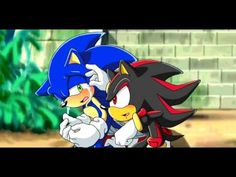 Don't cry littel boy by Pichu-Chan on DeviantArt Shadow The Hedgehog, Sonic The Hedgehog, Silver The Hedgehog, Sonic Fan Characters, Fictional Characters, Sonic And Shadow, Sonic Boom, Fan Art, Animation