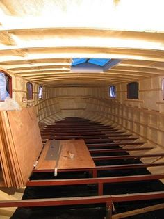 Construction - Gallery - Will Trickett Boats - Bespoke Canal Boat and Dutch…