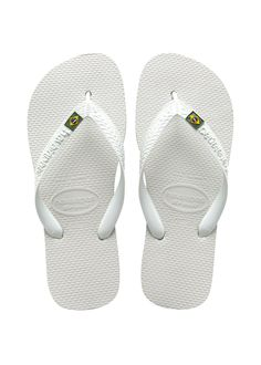 d3208530831d Brazil Sandal White. Havaianas BrasilBrazilian Flip FlopsBrazil ...