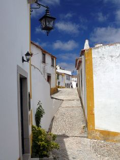 Obidos street | Portugal