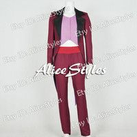 The Princess And The Frog Doctor Facilier Cosplay Costume Custom made in any size