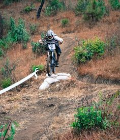 Trail leader of Life cycle Nepal, Shyam making a jump. Photo by: Anuj Adhikari