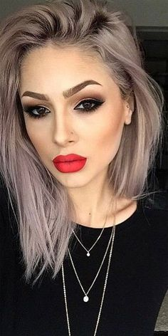 23 Most Attracting Hair Color And Eye Makeup