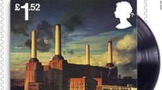 Royal Mail Postage Stamp Featuring Pink Floyd album cover / artwork for Animals Royal Mail Stamps, Uk Stamps, Postage Stamps, Pink Floyd, Great Britan, Postage Stamp Collection, Small Art, Penny Black, Stamp Collecting