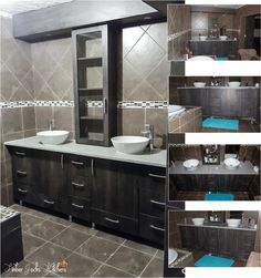From brand new bathrooms, renovated bathrooms, small bathrooms, big bathrooms we do it all. All work done by Timber Jocks Kitchens Pty (Ltd) Pin as much as you like, just don't make it your own #capisce
