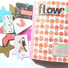 In their prettiest edition yet, Flow Magazine fills a Paper Lover's Book with floral, fruity, friendly and fun paper goodies you will drool over.