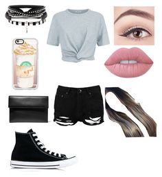 """""""Untitled #890"""" by glamor234 on Polyvore featuring T By Alexander Wang, Boohoo, Converse, Marni, Casetify and Lime Crime"""
