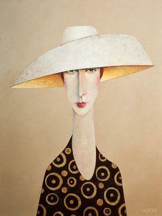 too much art - brazenswing: Danny McBride, Madison Avenue. Danny Mcbride, Woman Painting, Portrait Art, Beautiful Paintings, Face Art, Figurative Art, Art Photography, Illustration Art, Art Gallery