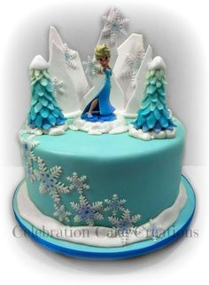 Christmas cake ideas on Pinterest Christmas Cakes ...
