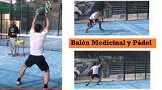 VÍDEOS con Ejercicios en Clases de Pádel usando el BALÓN MEDICINAL para trabajar la FUERZA. Se combina con GOLPES DEFENSIVOS ¡Excelentes ejercicios!