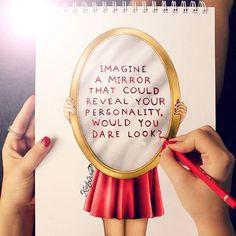 Imagine a mirror...