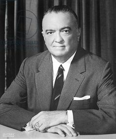 J. Edgar Hoover (1895-1972) c.1960 (b/w photo)