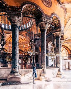 Ah schönes Istanbul - Fabienne Antalya, Le Nil, Islamic Paintings, Istanbul Travel, Hagia Sophia, Beautiful Places To Travel, Turkey Travel, Place Of Worship, Travel Photography