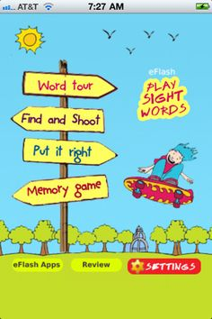 Sight Words! ($1.99) ★ Pre-Primary and Primary grades, each with 3 levels of difficulty  ★ Professional voiceovers for excellent auditory learning  ★ 3 built-in games for playful learning  ★ Hard and easy levels of difficulty for games  ★ Superb memory building with memory game!  ★ Ad-free