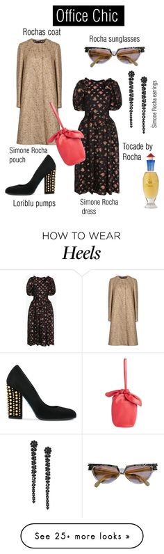 """""""IT Culture"""" by oooooh on Polyvore featuring Rochas, Simone Rocha and Loriblu How To Wear Heels, Classy, Pumps, Culture, Sunglasses, Chic, Polyvore, Outfits, Fashion"""