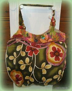 Old Cotton Cargo Rose strandtas 1487 retro | ♥ Old Cotton Cargo Handgemaakte tassen | Malaika Creatives