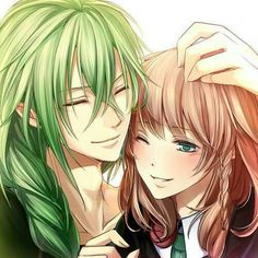 Ellos dos son tan linda pareja XD