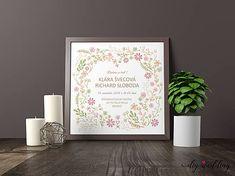DIYWedding / Tlačené svadobné oznámenie Letná láska