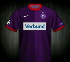 FK Austria Vienna home shirt for Fk Austria Wien, Vienna, Football, Club, Mens Tops, T Shirt, Soccer, Supreme T Shirt, Futbol