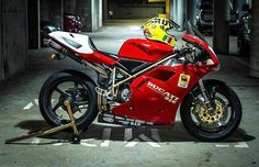 The most iconic Ducati ever made. Ducati 996, Ducati 1199 Panigale, Ducati Superbike, Moto Ducati, Ducati Motorcycles, Motorcycle Types, Motorcycle Design, Classic Motorcycle, Ducati Models