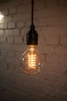 Edison Style Vintage Lightbulb  Small Round by VintageLightbulbs, £10.99