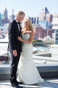 Lovely Fall wedding at the @fsbaltimore! www.marybrunst.com