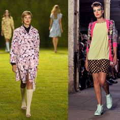 At the Paul Smith show in 2004, and the Giles Spring/Summer 2011 show in 2010.Known best for her and... - Provided by ELLE