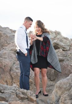 Lost Gulch Overlook Colorado Rocky Mountain Proposal Seeing Ring Reaction