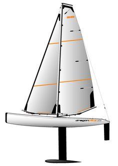 Joysway Dragon Flite 95 ARTR R/C High Performance Racing Sailboat