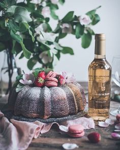 "Patricia Nascimento's Instagram profile post: ""This neapolitan bundt cake is perfect to celebrate Easter, served with the precious Marquês de Borba Late Harvest, the best match for…"""