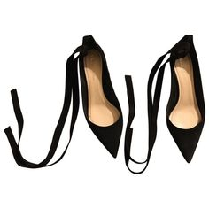Pre-Owned Dior \n Black Suede Heels Christian Dior, Christian Louboutin, Global Icon, Dior Shoes, Shoe Closet, Suede Heels, French Fashion, Black Suede, Stylists