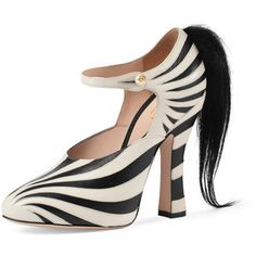 Gucci Lesley Ponytail Mary Jane Pump