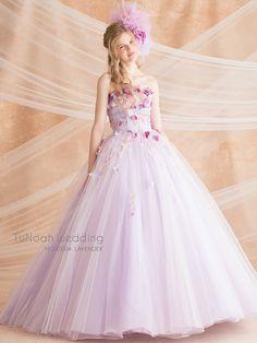 NOA0004_lavender | こだわりのオーダードレス専門店/チュノアウエディング