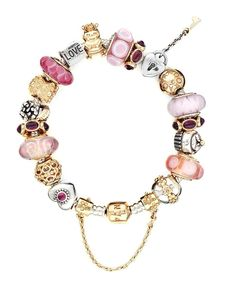 Love the pink and gold Pandora!  See it at the King of Prussia Mall!