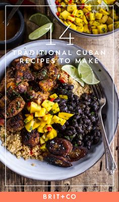 Save this to discover a variety of traditional Cuban recipes you can make at home.