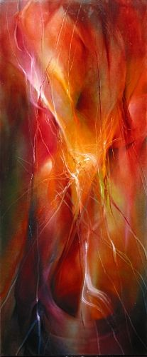 "Annette Schmucker, ""Lichtertanz"" / 2008  With a click on 'Send as art card', you can send this art work to your friends - for free!"
