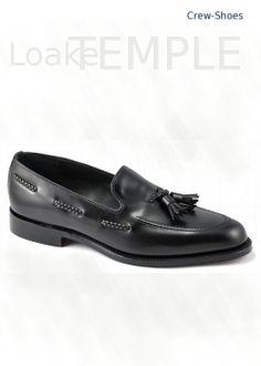 Loake Temple in black